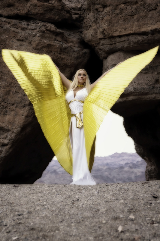 Enchanted-Enchanted_Eye_Photography-yellow_wings-isis_wings-Las_vegas_desert-Lake_Mojave-Nelson_MG_7532a